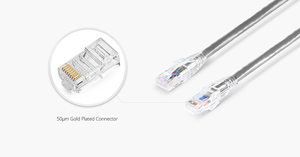 RJ45 Connector For Twisted Pair Cable