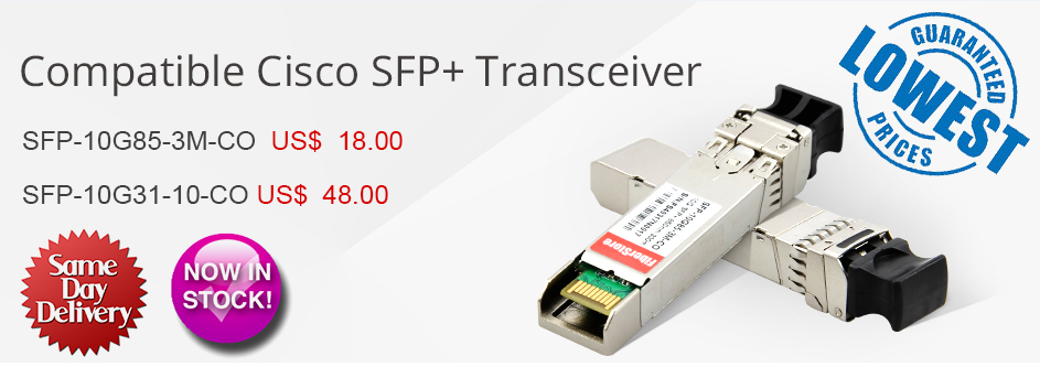 Cisco SFP+ Transceiver