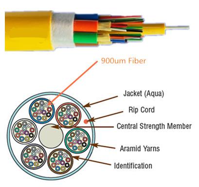 900um fiber cable
