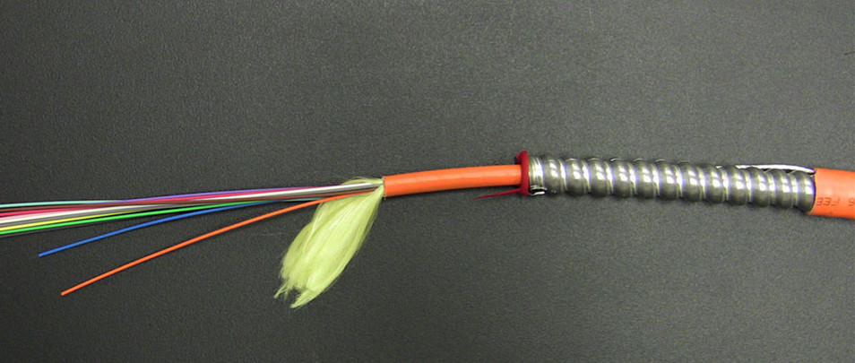 Armored Fiber Optic Patch Cable