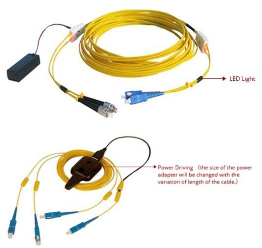 Traceable Fiber Patch Cord