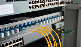 LC fiber patch cords - interconnect-style cabling solution
