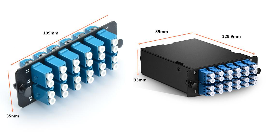 Fiber Adapter Panels and MTP Cassettes