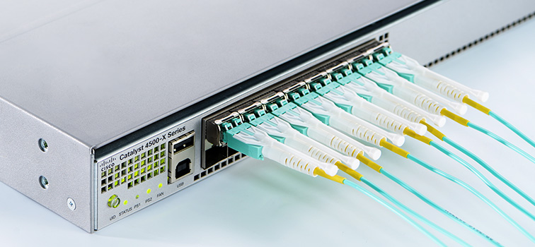 10G use LC duplex cabling