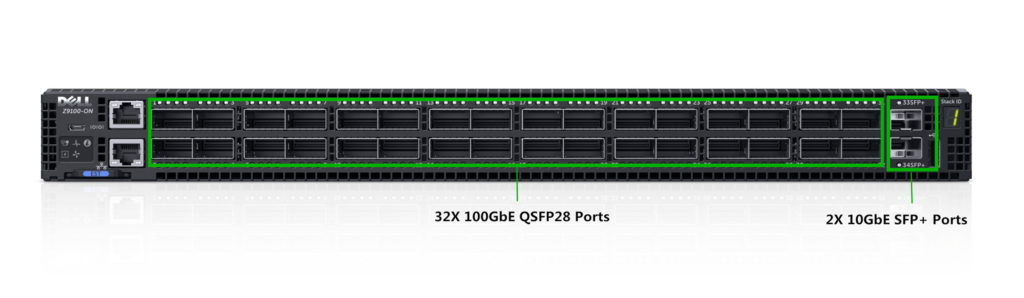 Dell 100GbE Switch Z9100-ON