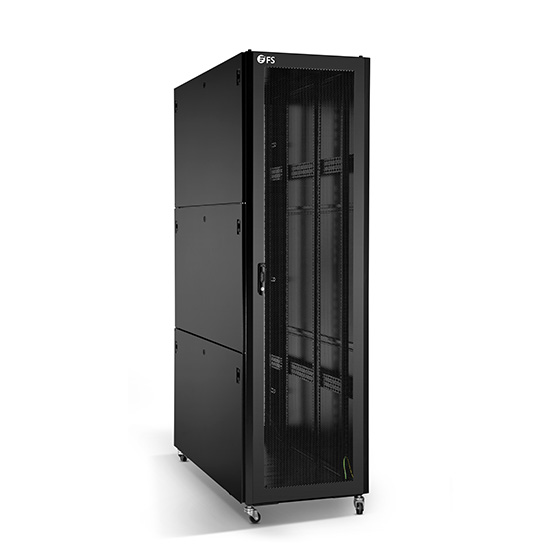 floor standing rack enclosure