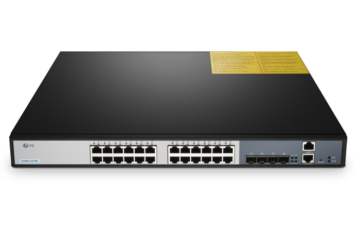S3900-24T4S 24-port managed switch