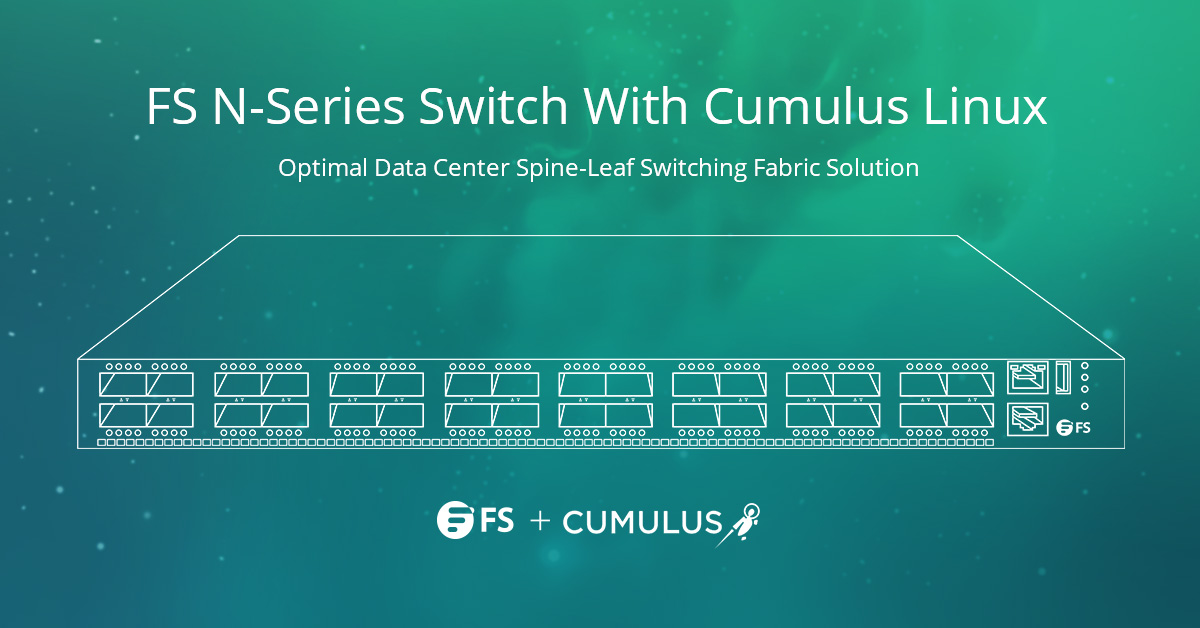 Open source switch with Cumulus Linux
