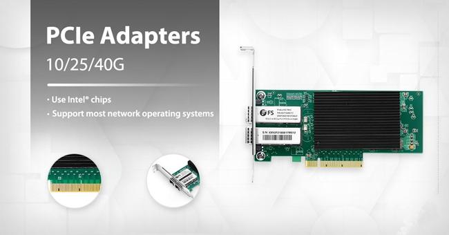 PCI Express Network Card