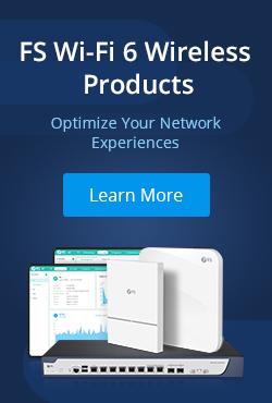 fs wi-fi 6 products